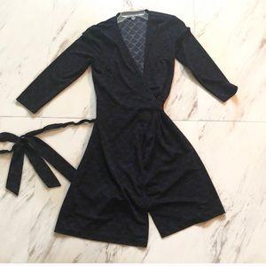 Ann Taylor Patterned wrap dress